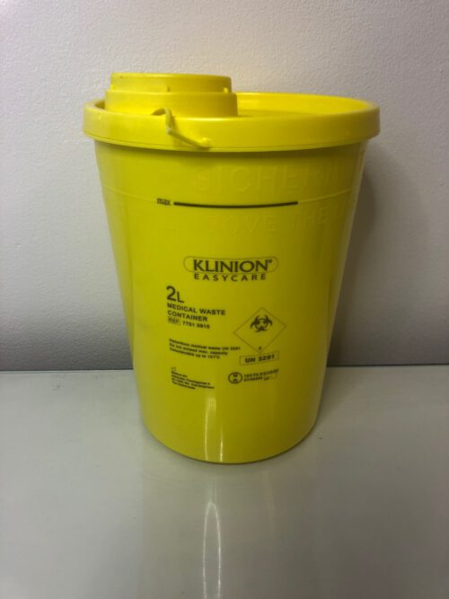 Naalden container medical waste container 2l