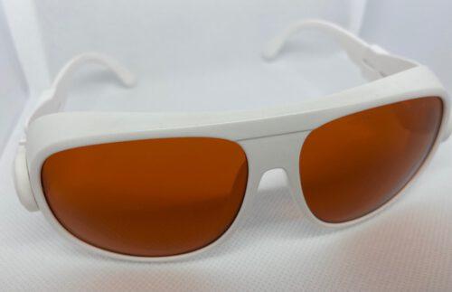 Veiligheidsbril Wit - Laser therapie 190 - 1064 nm